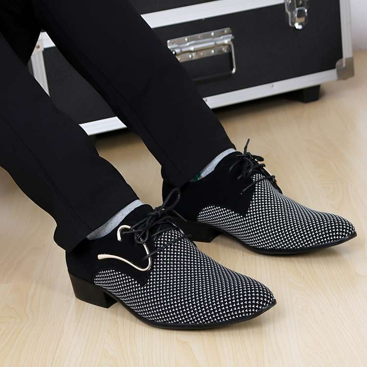 men's office shoes fashion oxfords leather masculino sapatos flats shoes for man business dress shoes(China (Mainland))