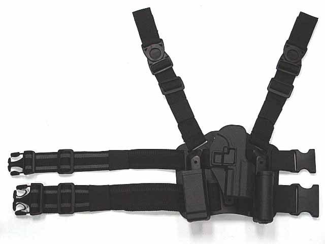 CQC Beretta 92/96 RH Drop Leg Holster Mag&Light Case - Rifle Scope of Linda Meng store
