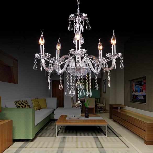 Crystal Lighting Chandeliers Modern Chandelier For Living Room Lights