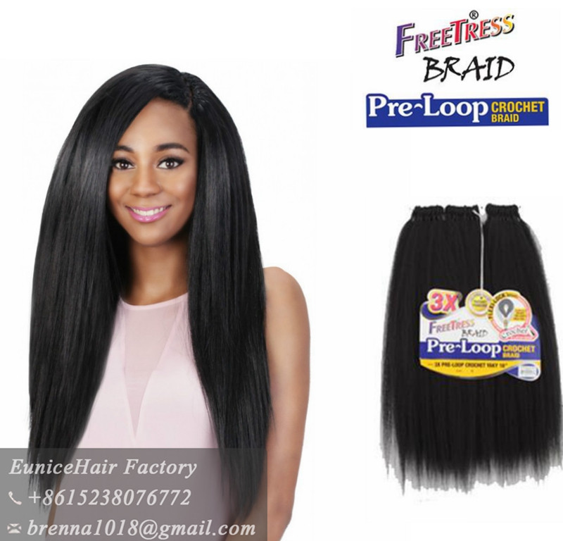 ... crochet hair extension Popular Kinky Yaki Hair for Crochet Braids Hair