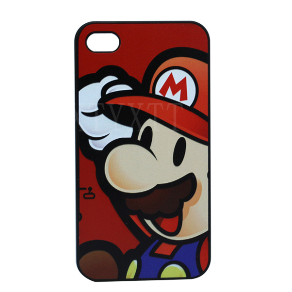 Retail Free Delivery Cute Cartoon Style Design Custom Painted Hard Plastic Protective Phone Case Cover Iphone 4 4S 5 5S 5C - FashionPhoneCase store
