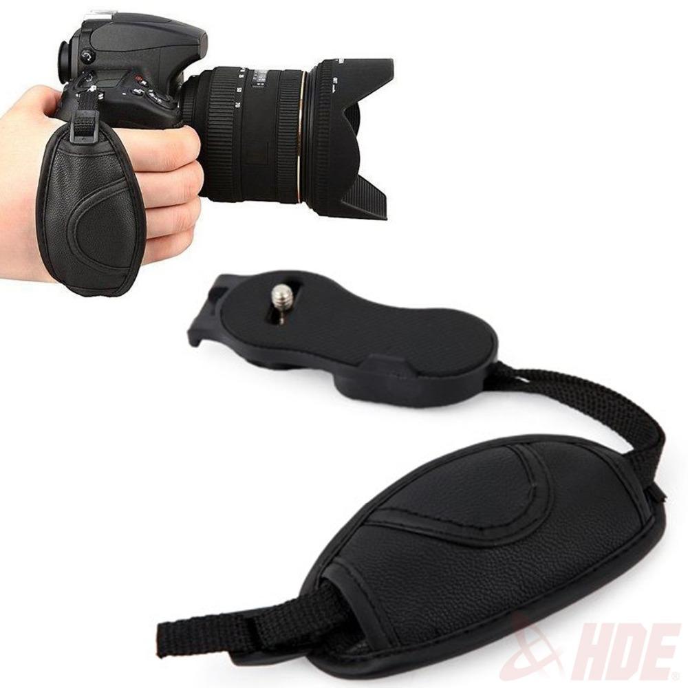 Camera Leather Hand Grip for Canon EOS 700D 650D 60D 70D 7D 6D 5D2 5D3 Nikon D750 D600 for Sony Olympus SLR/DSLR Wrist Strap(China (Mainland))