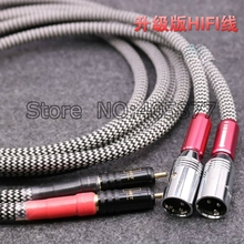 Buy Viborg Silver Plated Audio Cable 2 RCA Male 2 XLR HIFI Plug 3 Pin Male Audiophile for $49.00 in AliExpress store