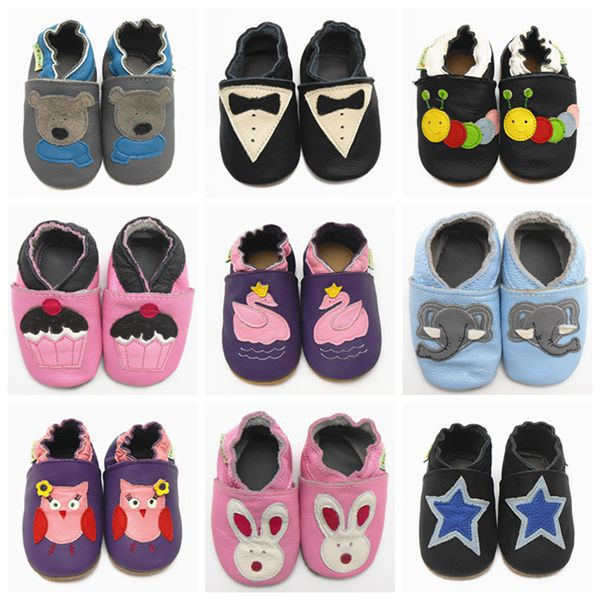 2015 New Fashion Cow Leather Baby Moccasins Soft Soled Baby Boy Shoes Girl Newborn Baby Shoes Kids First Walkers Free Shipping(China (Mainland))