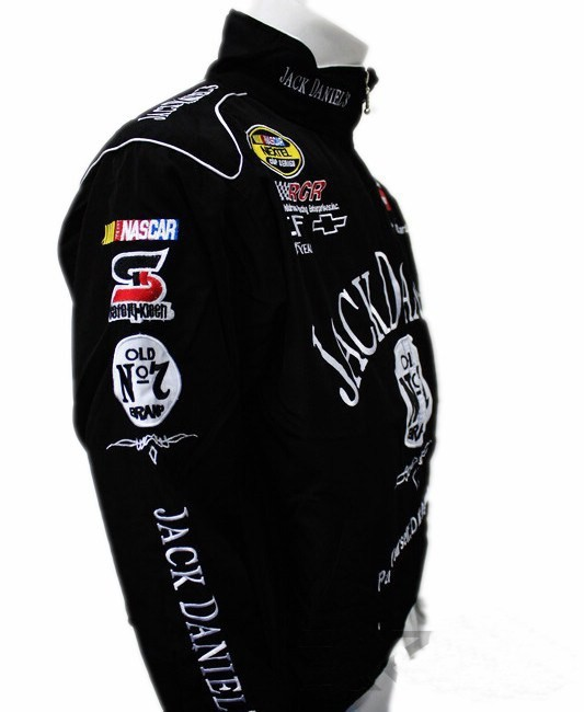Jack Daniels Jacket Men Motorbike Motorcycle Racing Biker