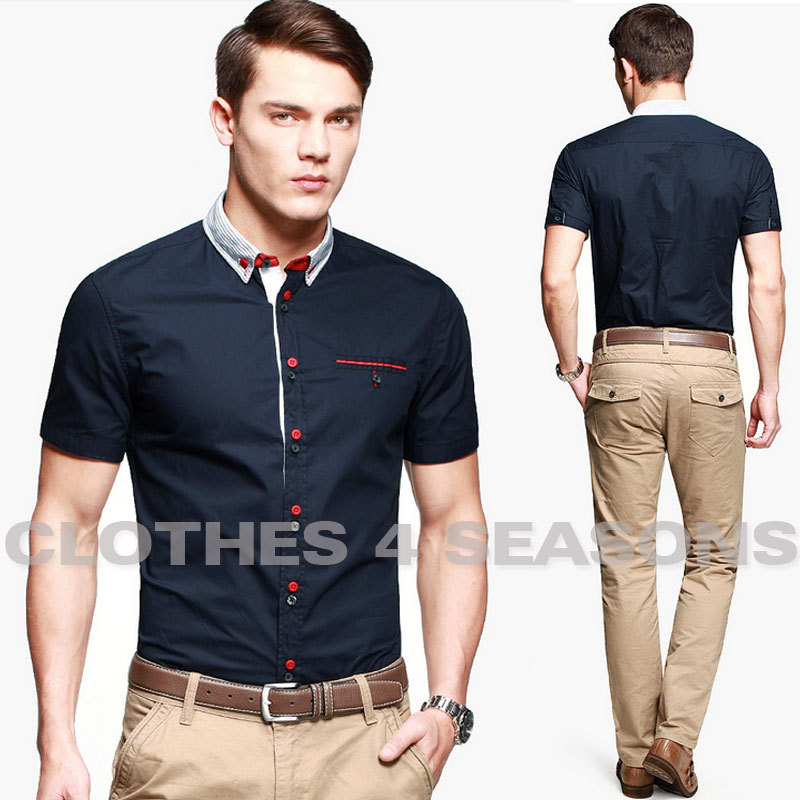 Are Short Sleeve Button Down Shirts In Style - Greek T Shirts