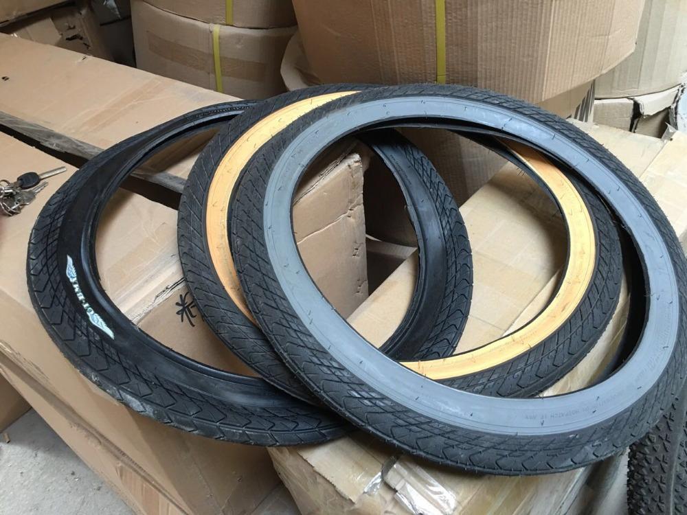 original GT stock 20*2.25 performance street xc high quality rubber bmx bicycle tire(China (Mainland))