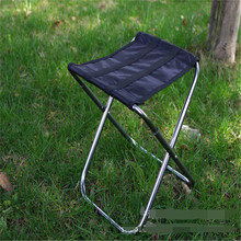 DHL Freeshipping 10pcs Portable folding fishing chair aluminum alloy beach chairs(China (Mainland))