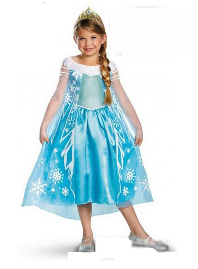 baby girls elsa anna easter rapunzel dress customes kid clothes toddler children resale clothing vestidos roupas infantil menina(China (Mainland))