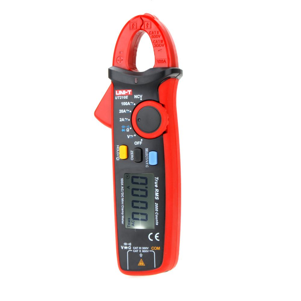 Current Clamp For Multimeter : Multimeter uni t true rms ac dc current mini clamp meters