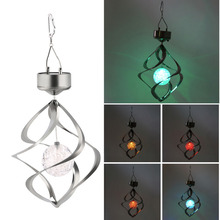 Worldwide Store Solar Powered LED Wind Chime Wind Spinner Windchime Outdoor Garden Courtyard(China (Mainland))