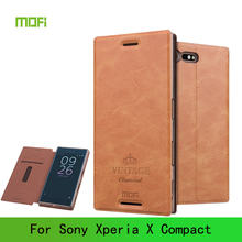 Buy Mofi Sony Xperia X Compact Case Luxury Flip PU Leather Case Sony Xperia X mini Book Style Leather Stand Cover for $7.99 in AliExpress store