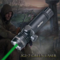 JouFou JG1 2 Hunting Tactical Green Dot Laser Sight Rifle Scope Mounts 20mm for Shotgun Pistol