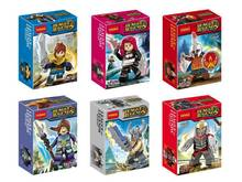 Wholesale 15lot Decool Building Blocks Super Heroes Minifigures League of Legens Katarina/Garen/Xinzhan/Pantheon/Zed Figures
