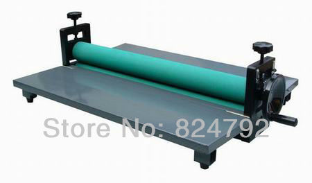 "Free Shipping NEW Heavy 25"" Manual Laminating Machine Perfect Protect Cold Laminator Office Equipment"