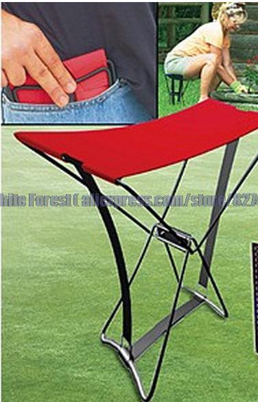 New 2015 pocket chair portable folding mini folding stool Fishing chair tv pr