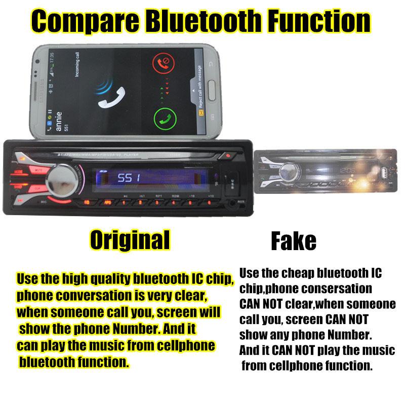 new 12V Car radio tuner Stereo AM FM Radio bluetooth detachable removable front panel MP3 Audio USB SD Port Car radio anti-theft(China (Mainland))