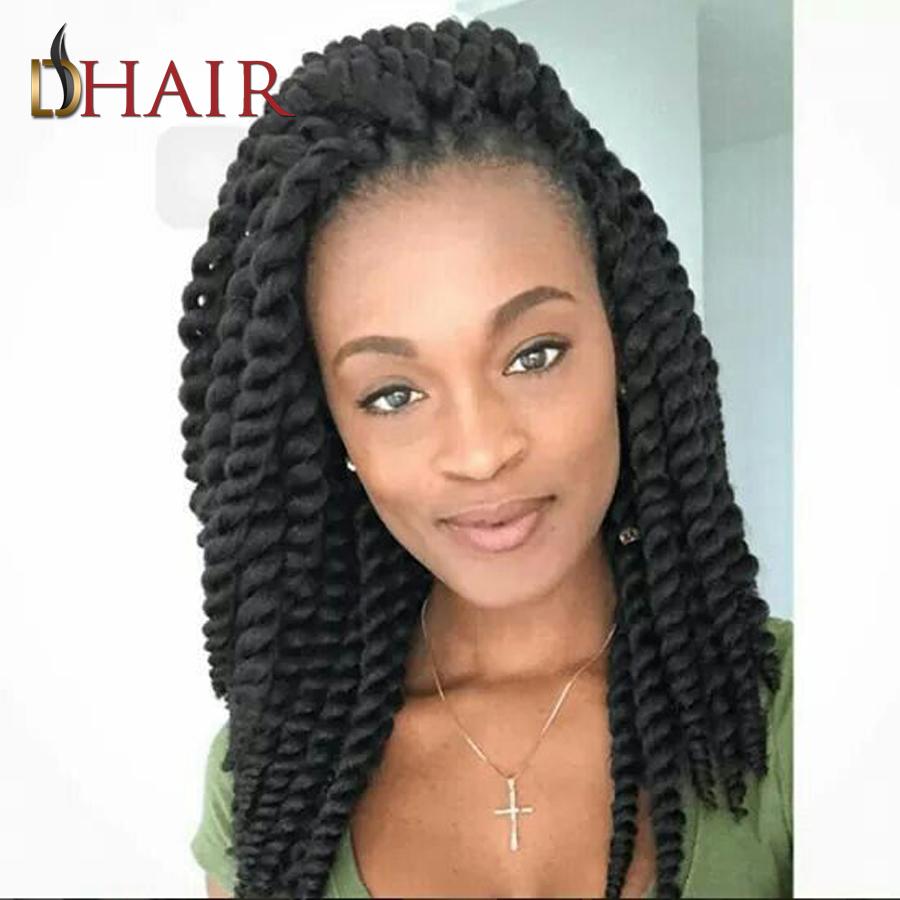 Kanekalon Havanna Mambo Twist 12 Inch 2X Box Braids Crochet Braids Hairstyles 6 Colors Afro Twist Braid Crochet Hair Extensions(China (Mainland))