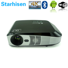 New DL308A 4K Projector 3D Full HD Video Projector DLP Android Projector Smart Home Theater Support Airplay Miracast 1500 Lumens(China (Mainland))