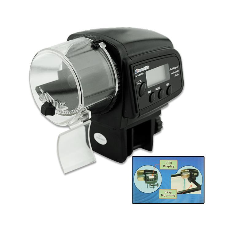 Cheap+49%off Easy Mounting Holiday Aquarium Fish Tank Auto Food Feeder Black EN0681(China (Mainland))