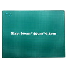 Buy PVC Cutting Mat a2 60*45cm Gaodi Durable Self Healing Handmade DIY Quilting Accessories Flexible Green Patchwork Board Plotter for $32.58 in AliExpress store