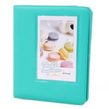 EWS!Mini Photo Album 64 Slots Fujifilm Instax Mini Film 8 7s 25 50s 90 Camera-Mint Green - Electronics World Store store