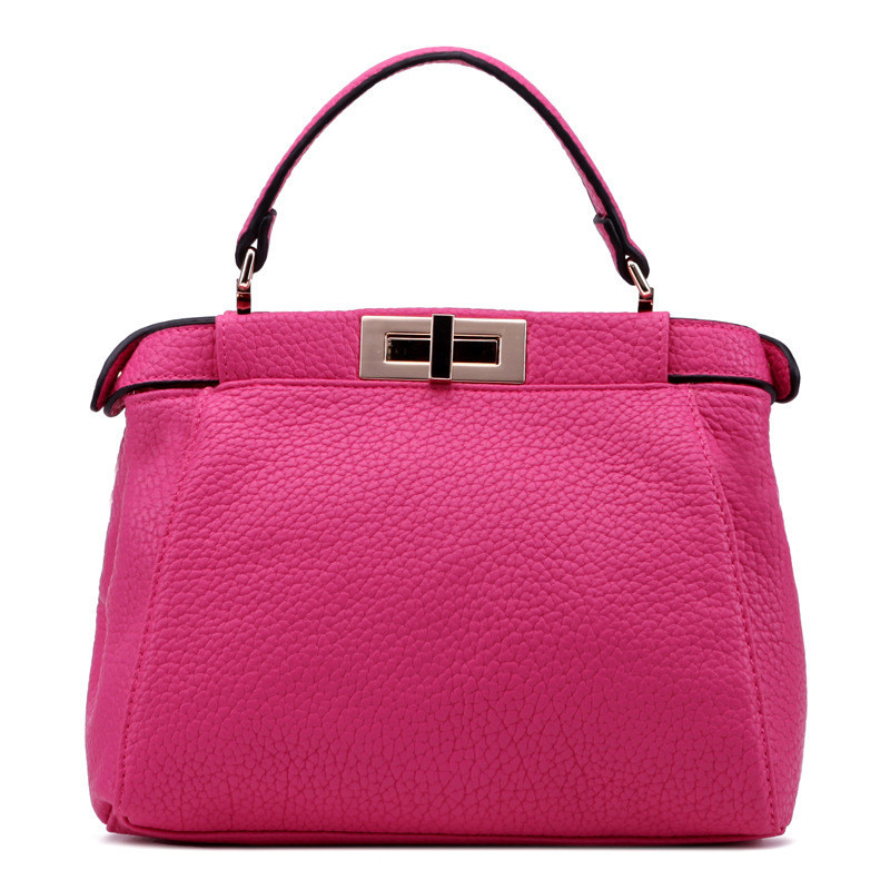 Fashion PU Leather Women Handbags Red Bags Women Channel Bag
