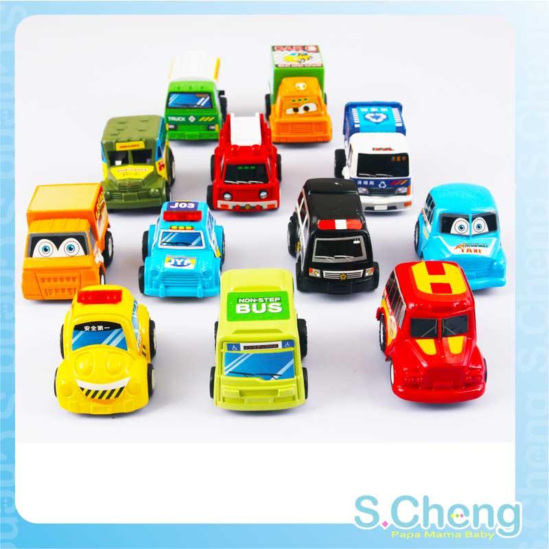 Classic educational toys gift cartoon qq mini WARRIOR friction car police car fire truck ambulance(China (Mainland))