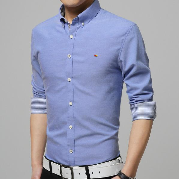 Best Selling 2015 Brand New Men Shirt Summer Luxury Slim