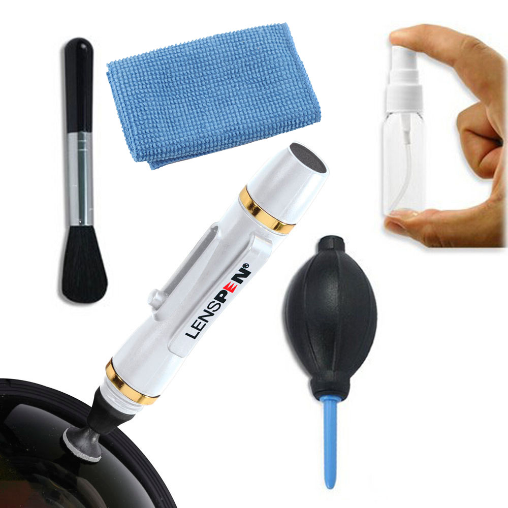 Professional Cleaning Kit + camera cleaning Pen for SLR Digital Camera Camcorder Filter free shipping(China (Mainland))