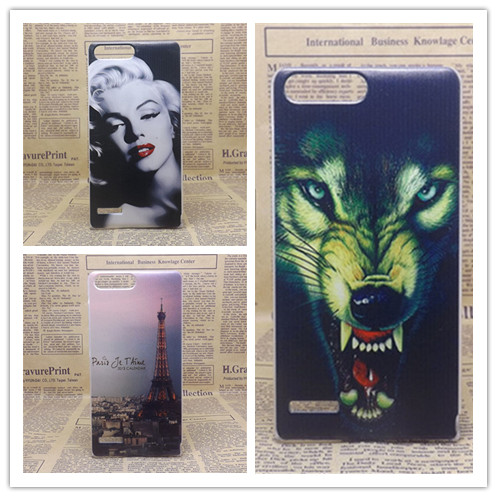 For Huawei P7 Mini case ,New Painting Hard PC Plastic Phone Case Cover For Huawei Ascend P7 Mini(China (Mainland))