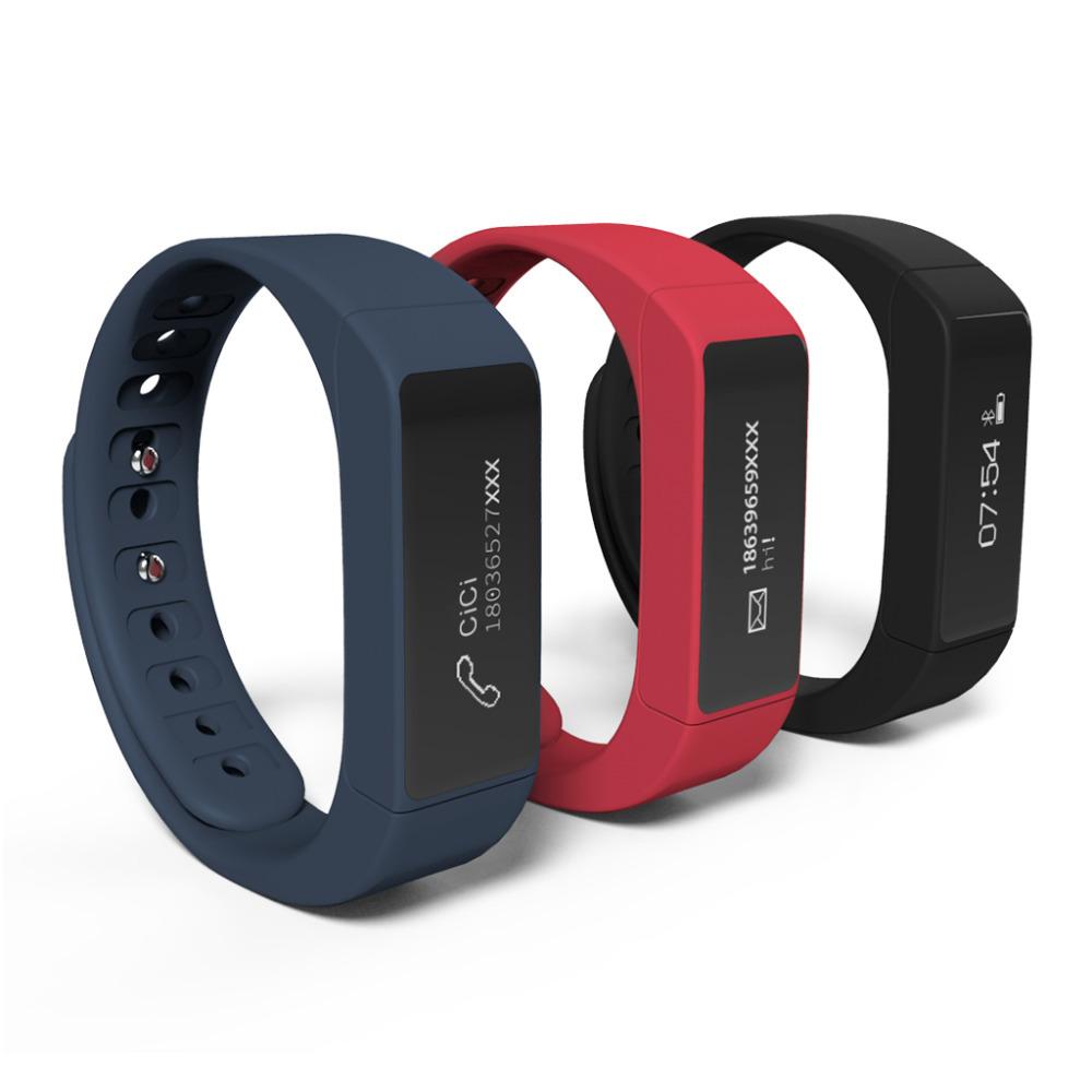 excelvan i5 plus smart bracelet bluetooth 4 0 waterproof. Black Bedroom Furniture Sets. Home Design Ideas