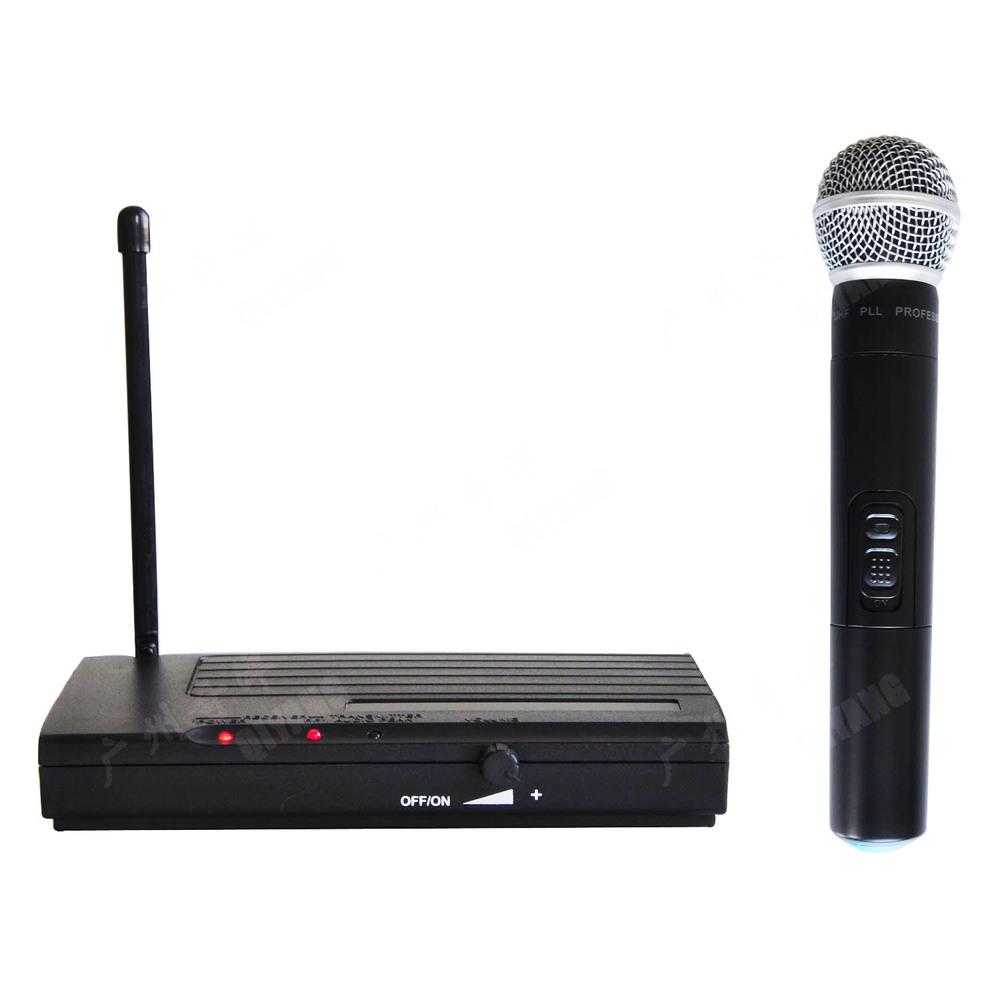 Freeboss U-8017 Long Range Single Handheld Mic FM Transmitter Karaoke UHF Wireless Microphone System consumer electronics(China (Mainland))