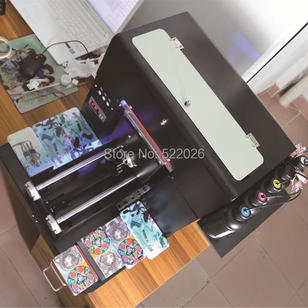 2016 Top Fashion Special Offer Inkjet Imprimante Smart Uv Directly Printing Machine For Phone Cover,card,lighter,usb Flash,etc.(China (Mainland))