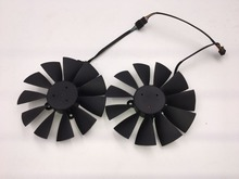Buy 2pcs/lot 95mm 4X28mm Original Graphics Video Card Fan FOR ASUS GTX 970 980 TI STRIX R9 285 380 T129215SU FD10015H12S DC12V 0.50A for $58.99 in AliExpress store