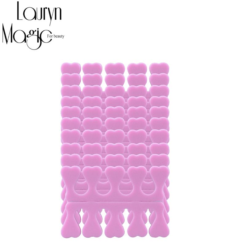 20pcs (10 pairs) EVA Nail Tools Soft foam Toe Finger Separator(China (Mainland))