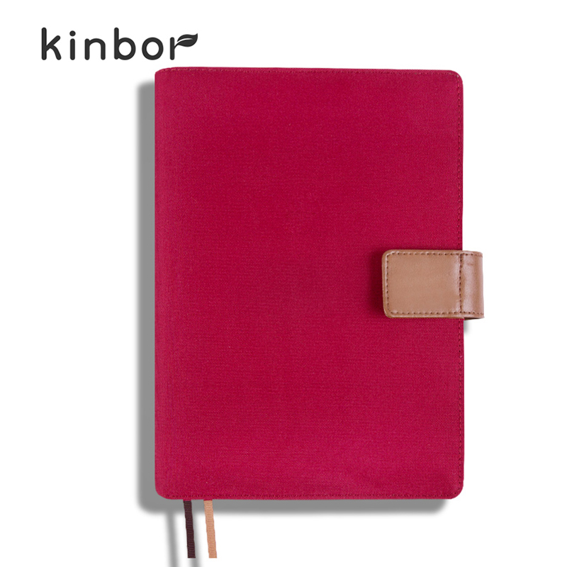 2016 Notebook Diary Button Hardcover Gift Organizer/Planner Size A5 ...