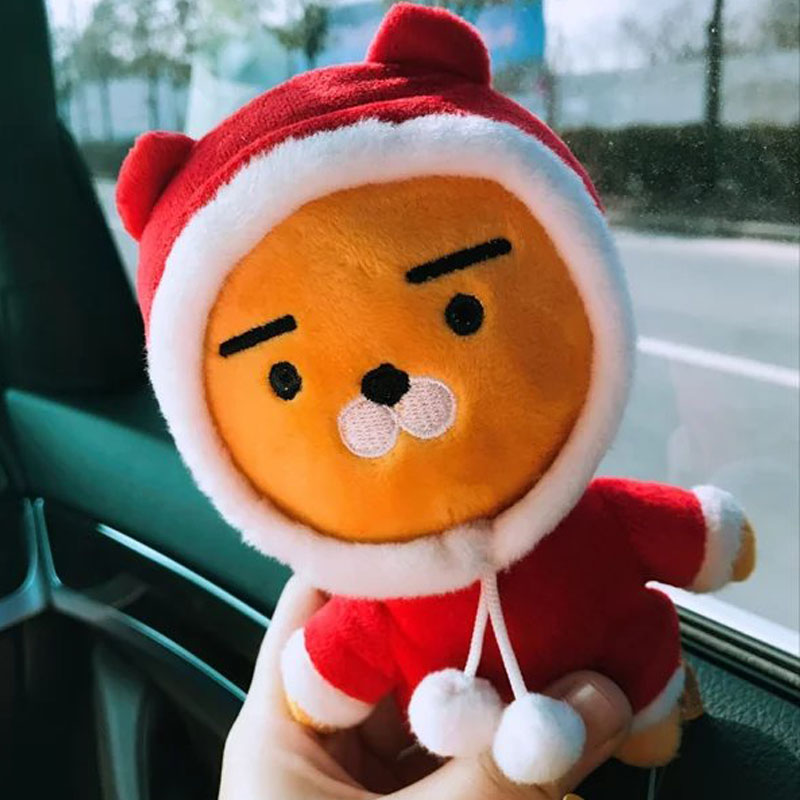 1pcs Ryan Plush Doll with Red Clothes Little Bear Plush Toys Stuffed Doll Birthday Gift for Children 16CM 28CM 35CM(China (Mainland))