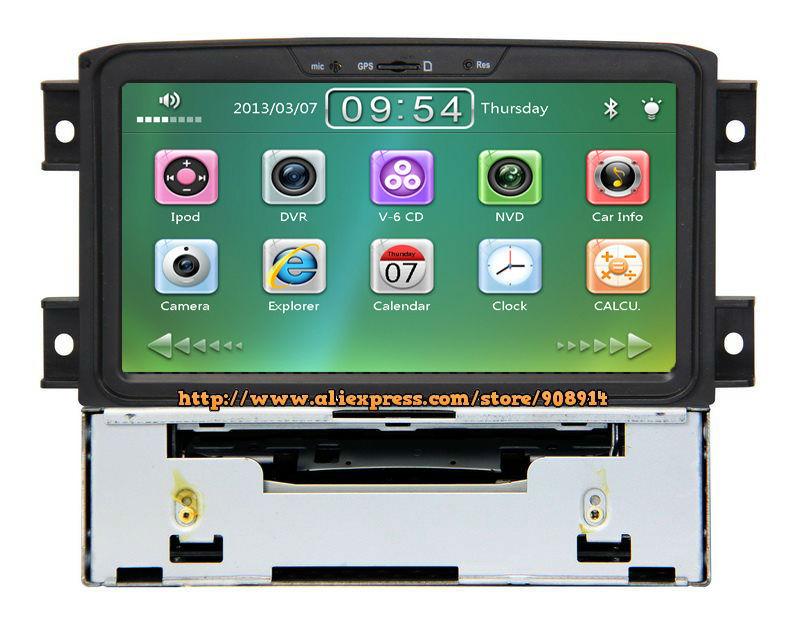 Free Shipping Car DVD Radio For Lifan 720 GPS With Free Map Card(China (Mainland))