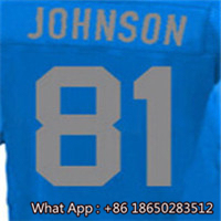 100% Stitched With Customized #9 Matthew #15 Golden #20 Barry #21 Ameer #81 Calvin Men's Blue Light Blue White Jersey(China (Mainland))