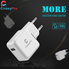 CinkeyPro USB Charger Smart EU Plug 5V 2A Power Adapter Dock Mobile Phone Accessories For iPhone iPad Samsung Fast Charging(China (Mainland))