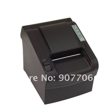 free shipping 80mm Thermal Receipt Printer USB no-cutter Epson compatible Support barcode and multilingual print POS terminal