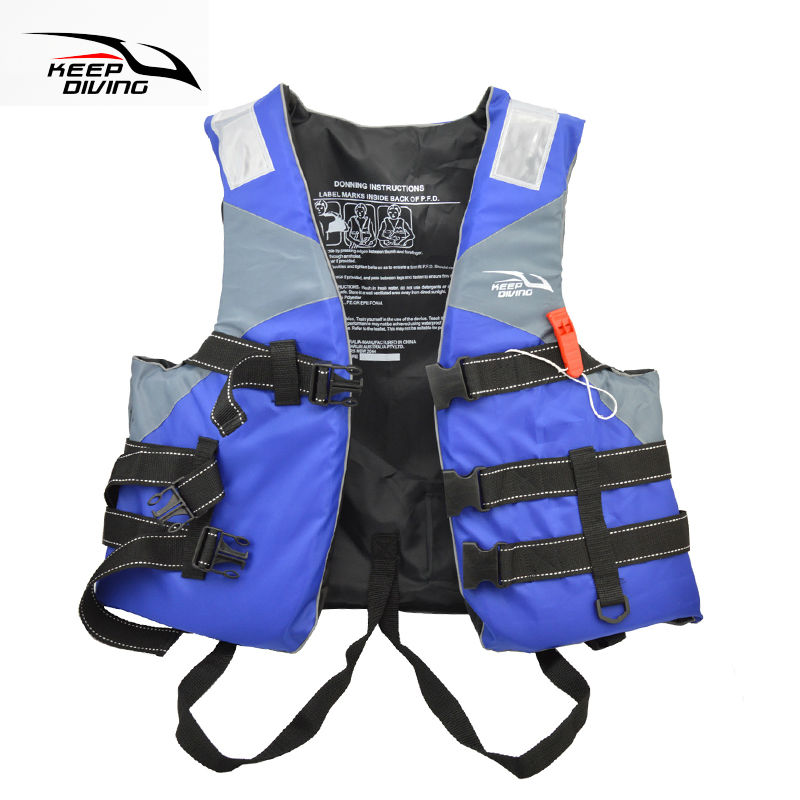 Professional Safety Life Jacket PFD Foam Float Vest For Adult Water