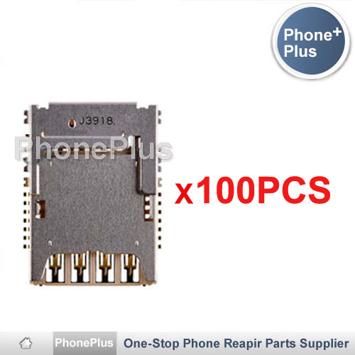 100PCS SIM Micro SD Memory TF Card Tray Reader Slot Holder Socket Replacement For LG G3 Mini D722 D724 D725 D728 Free Shipping