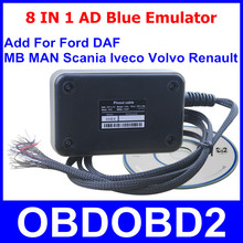 Professional 8In1 AD Blue Emulator Latest V3.0 Adblue 8 IN 1 Add New Heavy Duty Truck For Ford Remove Tool NOX Sensor Emulation(China (Mainland))