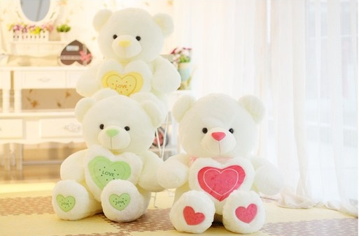 2015 Large Plush Teddy Bear Dolls 60cm-120cm Stuffed Toys Girls Birthday Gift Factory - toys'toys store
