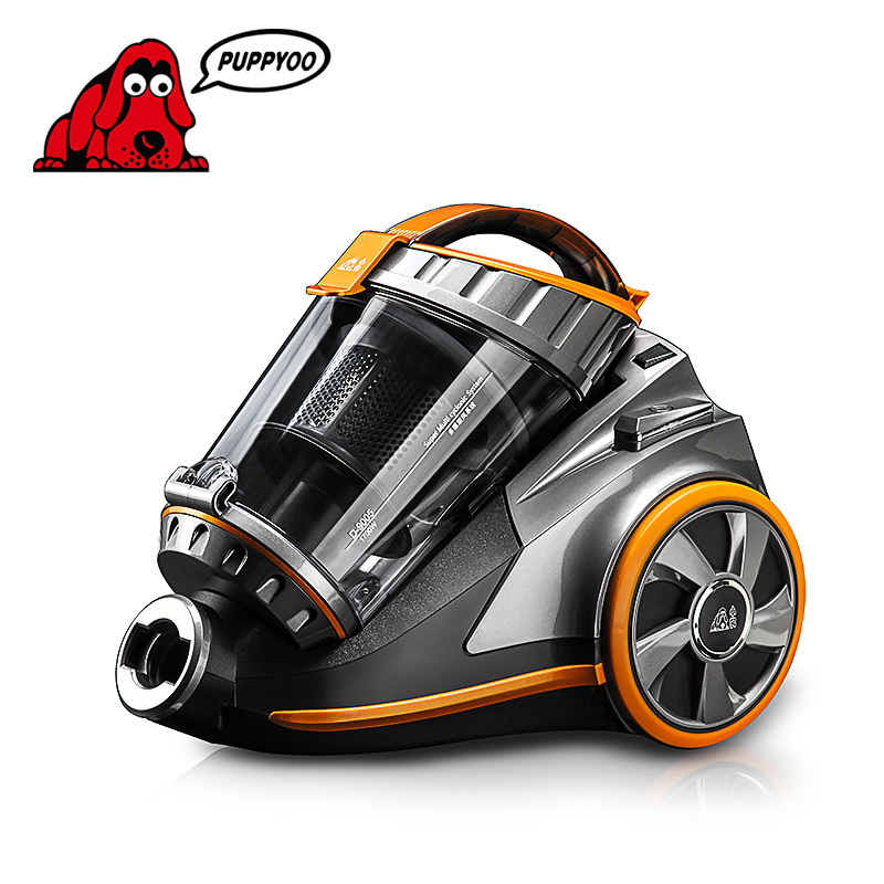 270 rotating woolen brush low noise Aspirator Vacuum Cleaner For Home Powerful Suction Canister Dust Collector D-9005 PUPPYOO()