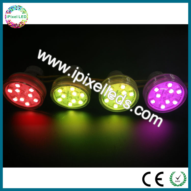 led point light source 45mm led pixel point lights 9 leds internal control pixel light source(China (Mainland))