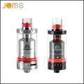 Stainless Black E Cigarette Clearomizer RTA Rebuildable Atomizer 3 5ml Top Filling Tank Pyrex Glass Vape