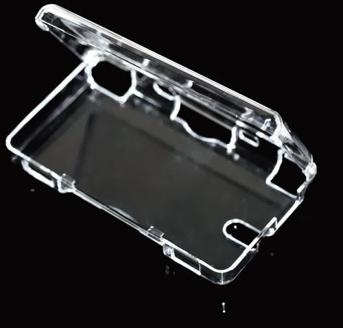 Translucent Hard Protective Plastic Crystal Case Clear Skin Shell Cover Guard for Nintendo DS lite(China (Mainland))
